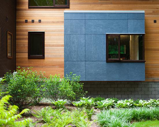 Modern Home Exterior Siding - Interior Design