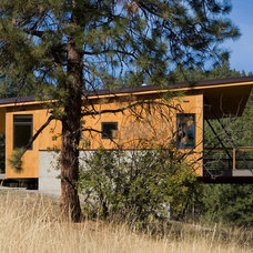 Modern Exterior by Balance Associates Architects