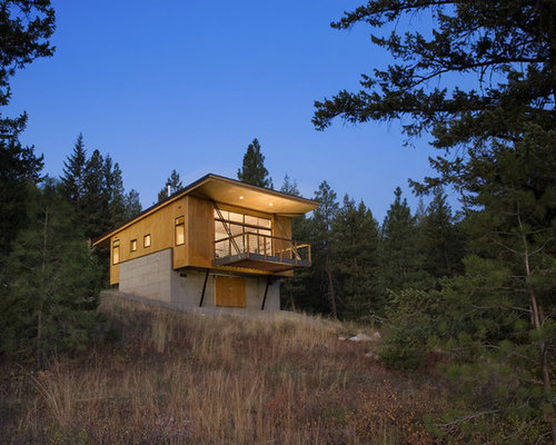Modern Cabin Design pre fab modern cabins with good design Small Cabin