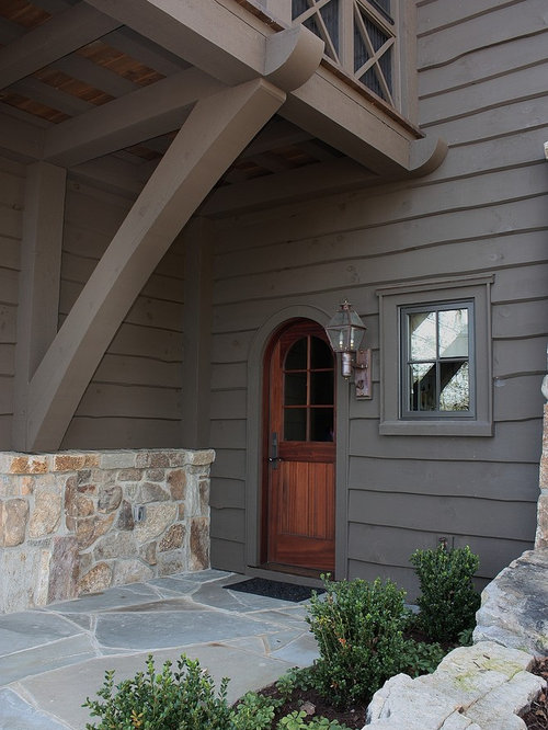 Cabot spanish moss houzz for Cabot s exterior stain colours