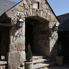Rustic Entry by Wright Design