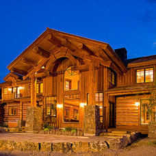 Traditional Exterior by Teton Heritage Builders