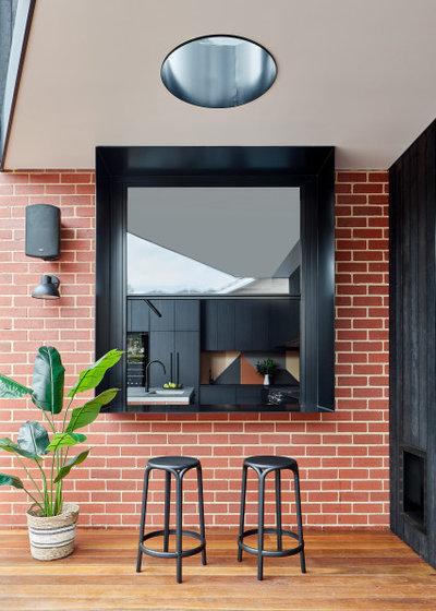Современный Фасад дома by Bryant Alsop Architects