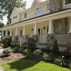 traditional exterior by Rivertown Homes by Design