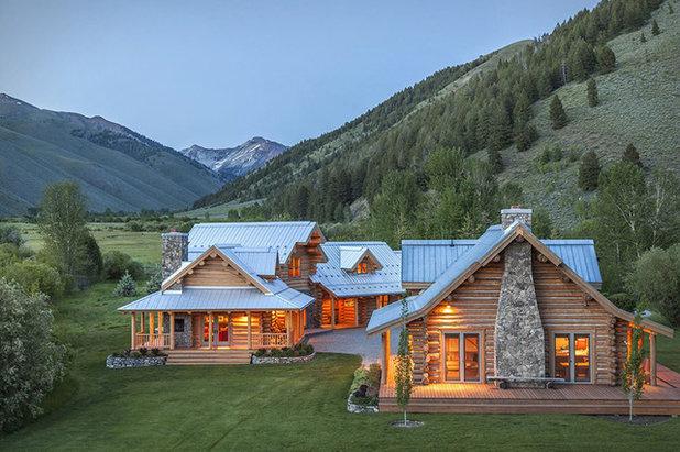 Rustikal Häuser by Jim Weinberg Lifestyles