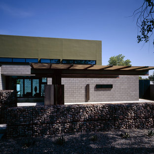 Minimalist two-story exterior home photo in Phoenix