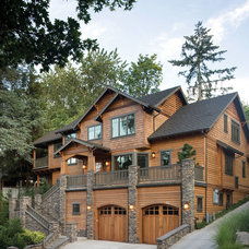 Contemporary Exterior by House Plans and More