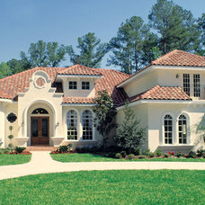 Mediterranean Exterior by House Plans and More
