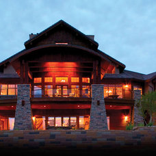 Eclectic Exterior by House Plans and More