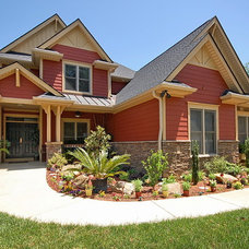 Eclectic Exterior by Design Basics Home Plans