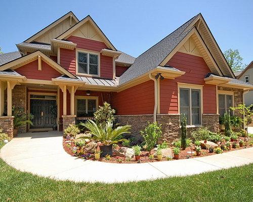 Eclectic omaha exterior design ideas remodels photos for Exterior remodel and design omaha