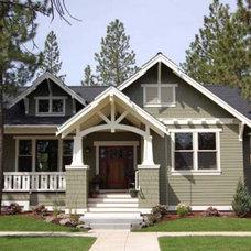 Traditional Exterior by Houseplans.com