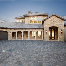 Mediterranean Exterior by Sterling Custom Homes