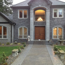 Traditional Exterior by Blinds Northwest - Portland, OR