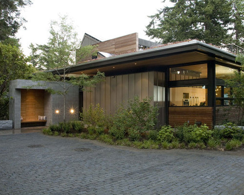 Metal Roofing Brick Home Houzz