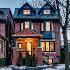 Traditional Exterior by Re:Placement Design