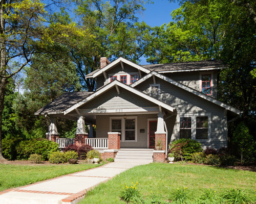 Gable addition houzz for Craftsman gable