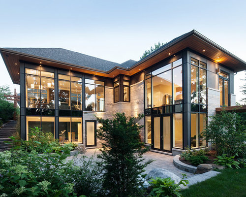 25 Best Glass Exterior Home With A Hip Roof Ideas