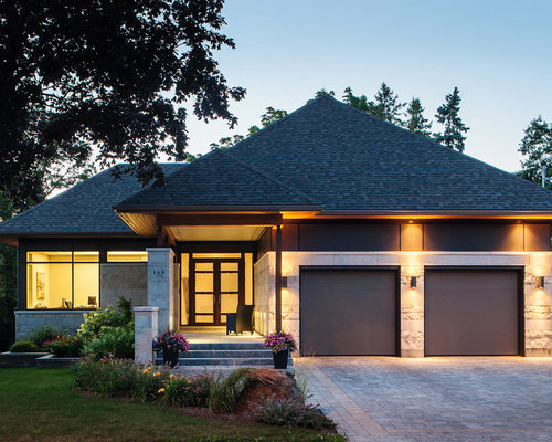 Hip Roof Garage Home Design Ideas Pictures Remodel And Decor