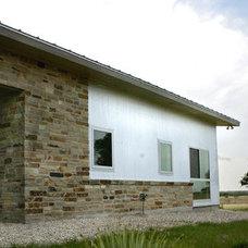 Contemporary Exterior by Steinbomer, Bramwell & Vrazel Architects