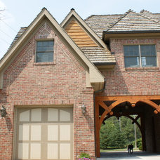 Traditional Exterior by Ressler Design, Inc.