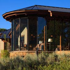 Modern Exterior by Teton Heritage Builders