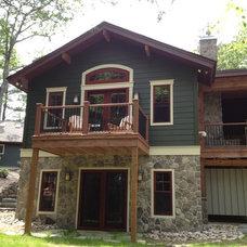 Traditional Exterior by Studio 810 Design/Build
