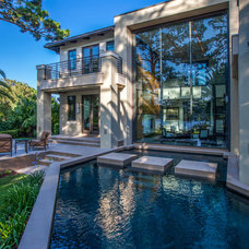 Contemporary Exterior by Storch Entertainment Systems