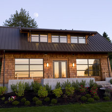 Traditional Exterior by BC&J Architecture