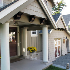 Traditional Exterior by Aubertine and Currier Architects