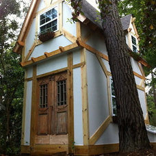 Eclectic Exterior Pointed Playhouse