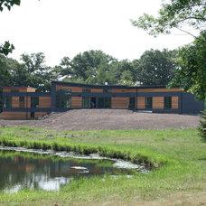 Contemporary Exterior by cc: Architecture, LTD.