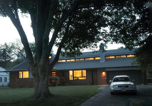 Contemporary Exterior by Princeton Design Collaborative