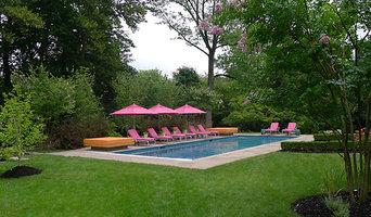 Pool and bluestone patio