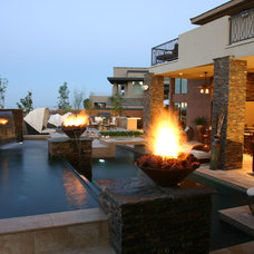 Modern Exterior by Paragon Pools