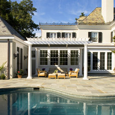 Traditional Exterior by Melville Thomas Architects, Inc.