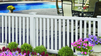 Pool Fences: PVC/Vinyl: Spaced Picket Styles: Greenbriar