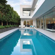 Contemporary Exterior by David Edelman Architects