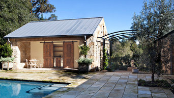 Pool House in Woodside