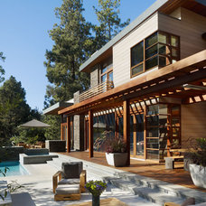 contemporary exterior by Rockefeller Partners Architects