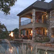 Traditional Exterior by Paradise Pools and Spas