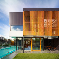 Contemporary Exterior by Steve Domoney Architecture
