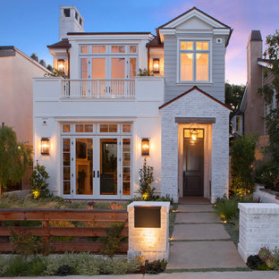 Transitional exterior home photo in Orange County