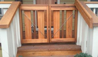 Porch gate