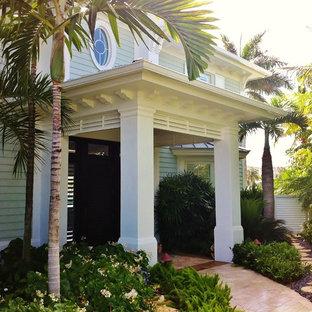 Porch of Palms