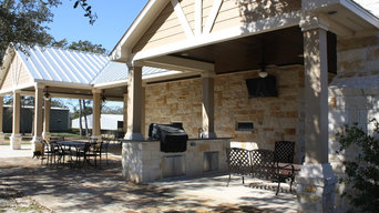 Porches and Outdoor Kitchen