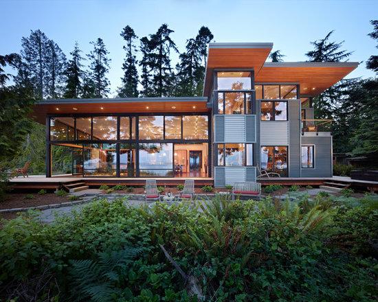 modern exterior home design ideas, remodels & photos