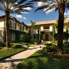 Mediterranean Exterior by The Williams Group Inc.
