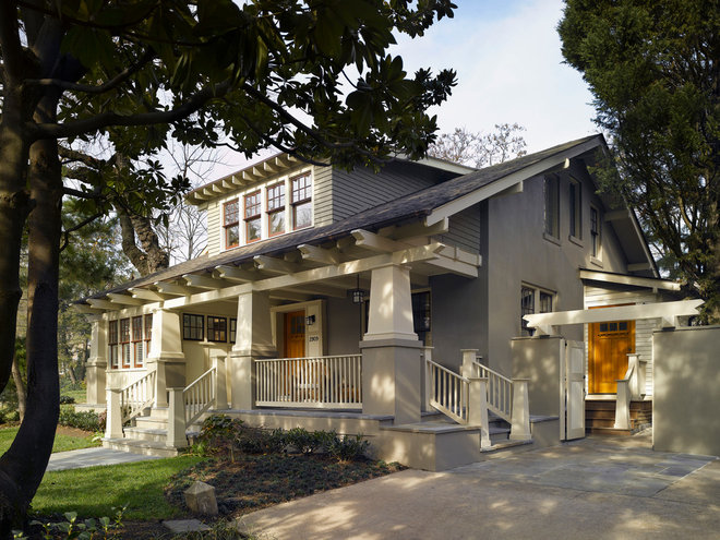 Craftsman Exterior by Moore Architects, PC