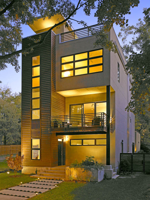 Modern house facades home design ideas pictures remodel Architecture home facade